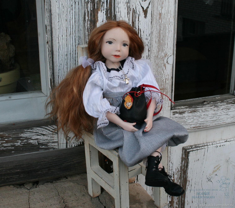 """Artist Doll """"A butterfly on a handbag"""" (la-la-kukla), Dolls, Moscow,  Фото №1"""