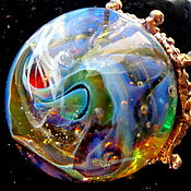 Украшения handmade. Livemaster - original item Ring Medusa and teleportal. Handmade.