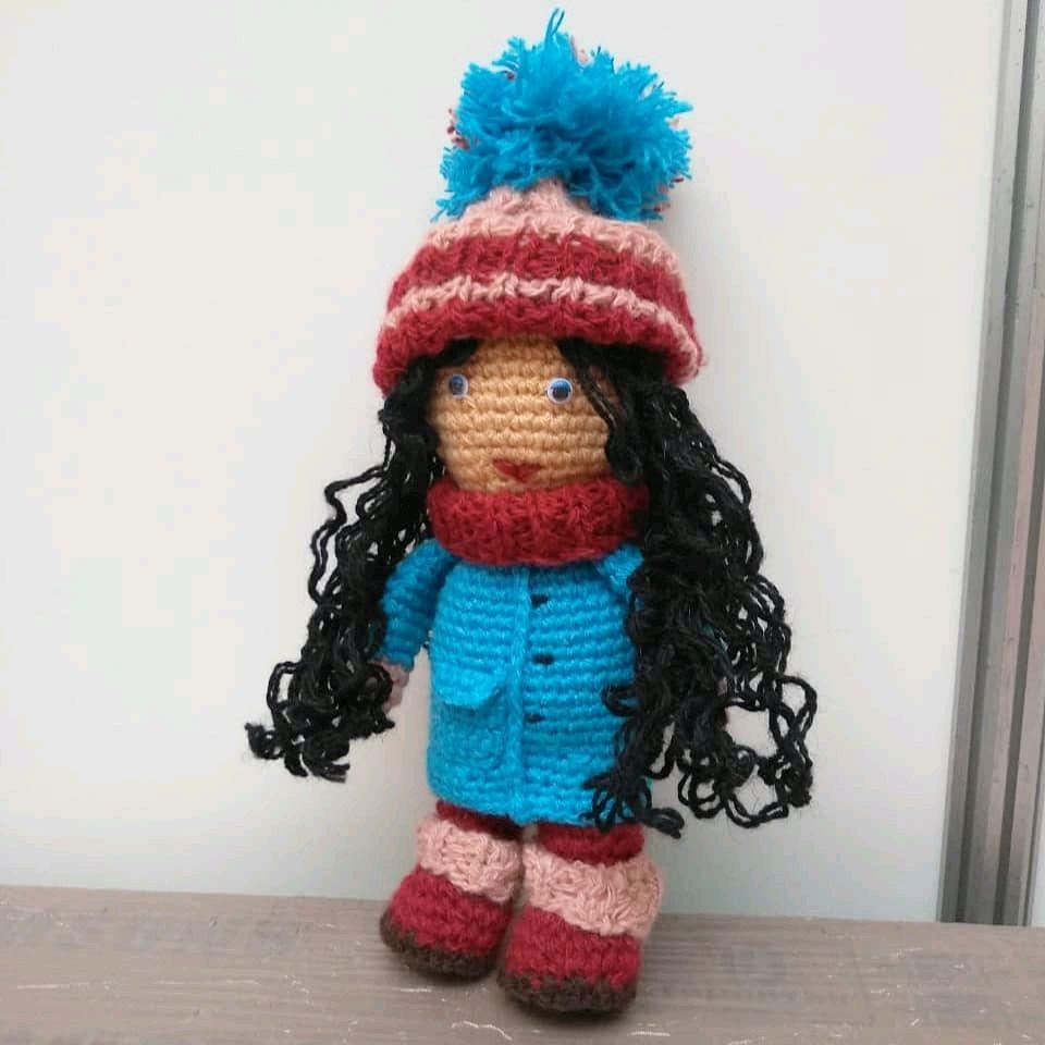 """Куколка """"Снежка"""" авторское изделие, Куклы, Уфа, Фото №1"""