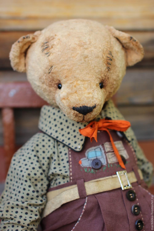 Мишки Тедди ручной работы. Ярмарка Мастеров - ручная работа. Купить Боренька. Handmade. Тедди, плюш ссср