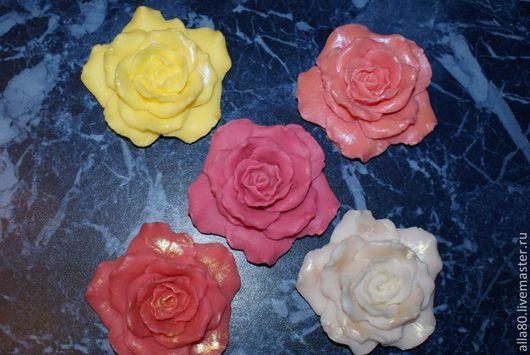 Мыло ручной работы. Ярмарка Мастеров - ручная работа. Купить мыло обольстительная роза. Handmade. Мыло ручной работы, роза
