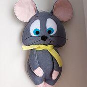 Игрушки ручной работы. Ярмарка Мастеров - ручная работа Мышка-символ года 2020. Handmade.