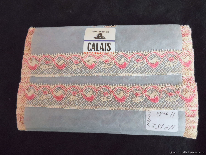 Винтаж: Кружево винтажное Calais Art Deco rouge, Аксессуары винтажные, Тольятти,  Фото №1