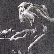 """Картины и панно ручной работы. Ярмарка Мастеров - ручная работа Картина """"Любовники"""". Handmade."""