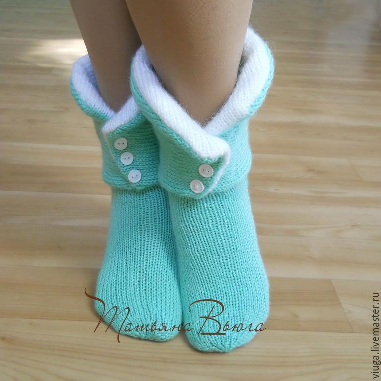 Купить Принцесса и Дракон. Носки вязаные, шерстяные носки ...