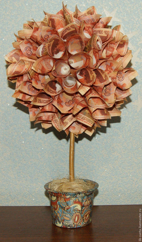 Как сделать топиарий денежное дерево