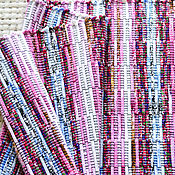 Для дома и интерьера ручной работы. Ярмарка Мастеров - ручная работа Половик ручного ткачества (№ 195). Handmade.