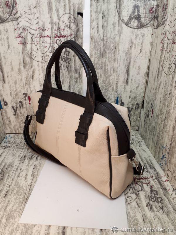 BAG OF GENUINE LEATHER, Classic Bag, Zvenigorod,  Фото №1