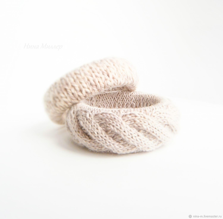 Set knitted bracelets Cocoa with milk, Bracelets, Ekaterinburg, Фото №1