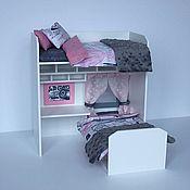 """Куклы и игрушки ручной работы. Ярмарка Мастеров - ручная работа Белый румбокс """"Мода"""" для кукол Monster High, Ever After High и др.. Handmade."""