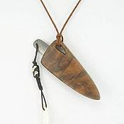 """Фен-шуй и эзотерика ручной работы. Ярмарка Мастеров - ручная работа нож кулон """"Волчий клык 2"""". Handmade."""
