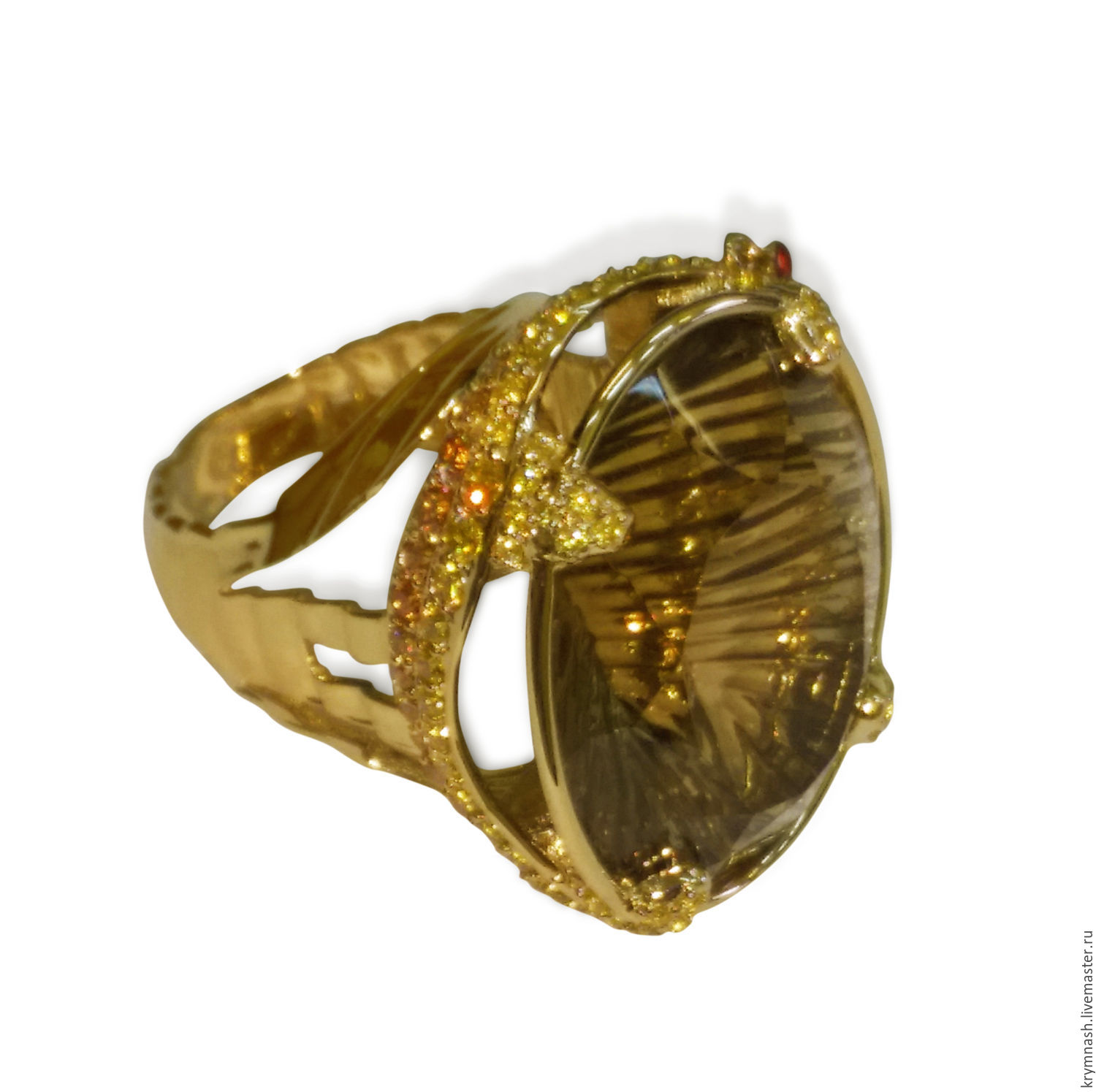 Online gold ring shopping