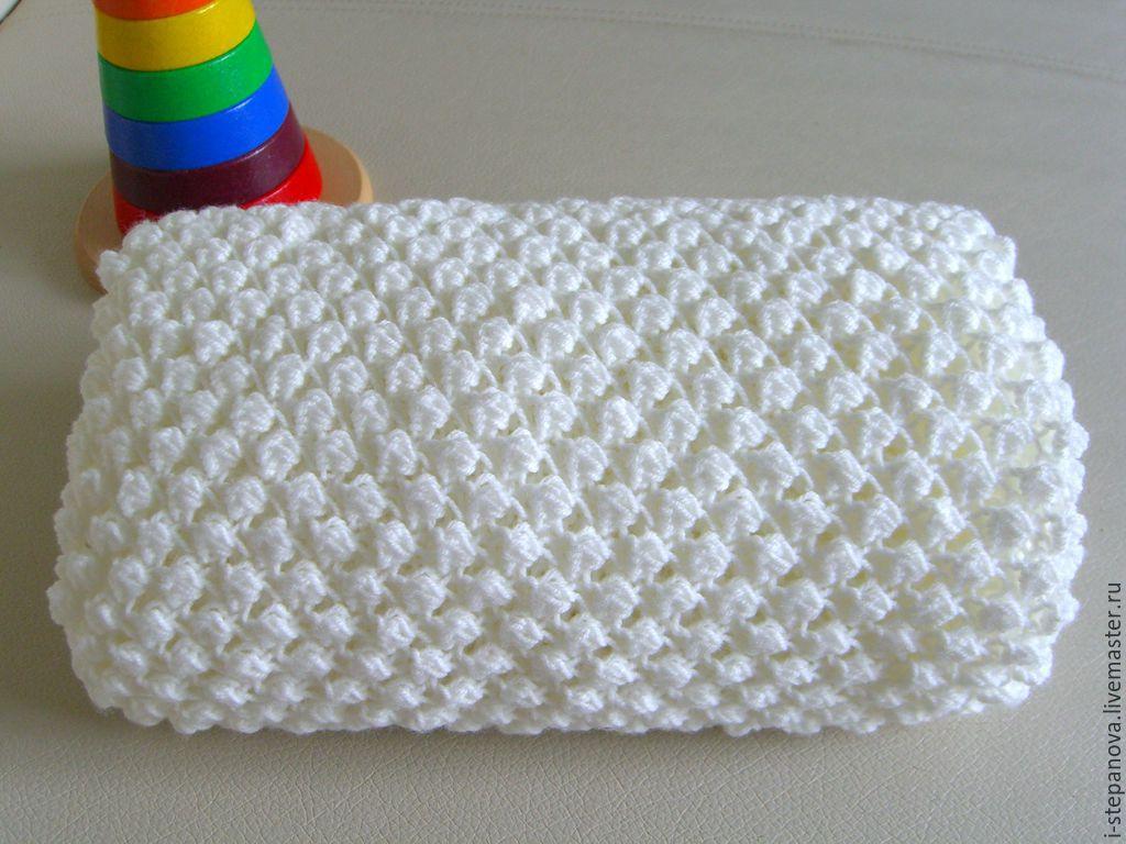 Схемы для вязания детского покрывала 39