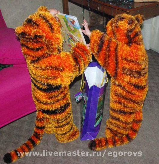 """Детские карнавальные костюмы ручной работы. Ярмарка Мастеров - ручная работа. Купить Комбинезон """"Забавные тигрята"""". Handmade."""