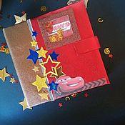 """Открытки ручной работы. Ярмарка Мастеров - ручная работа Альбом ручной работы """"Тачки"""". Handmade."""