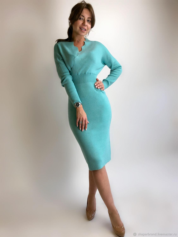 Бирюзовое платье, Платья, Москва,  Фото №1