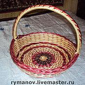 Подарки к праздникам ручной работы. Ярмарка Мастеров - ручная работа Пасхальная корзинка большая. Handmade.