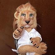 Куклы и игрушки ручной работы. Ярмарка Мастеров - ручная работа Лев - профессор медицины. На заказ.. Handmade.