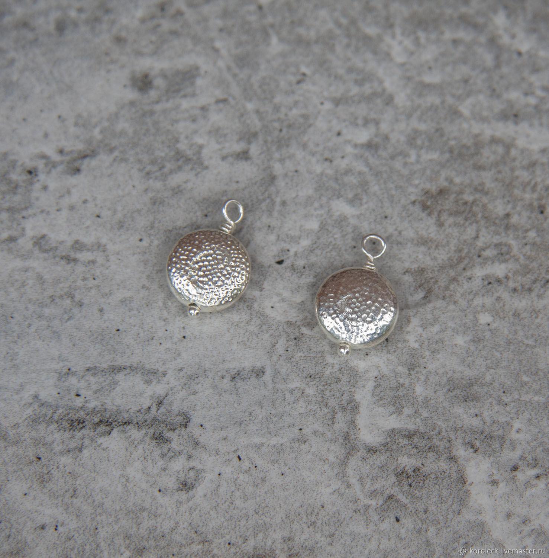 Подвеска серебряная Луна ручной работы, Подвески, Москва,  Фото №1