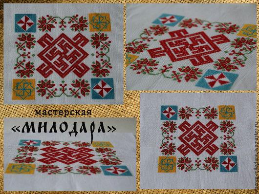 Славянский оберег `Цвет папоротника`  с хмелем для мальчиков с простудными заболеваниями и проблемами с речью.