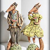 Для дома и интерьера ручной работы. Ярмарка Мастеров - ручная работа Лис и Лиса. Handmade.