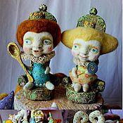 Куклы и игрушки ручной работы. Ярмарка Мастеров - ручная работа Теплые интерьерные игрушки. Handmade.