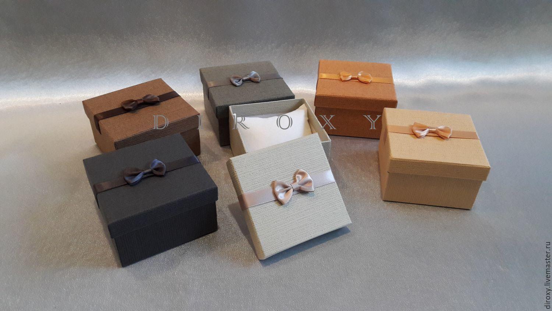 Коробочки для оформления подарка 165