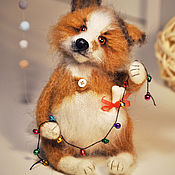 Куклы и игрушки handmade. Livemaster - original item Christmas mood. Handmade.