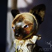 Куклы и игрушки ручной работы. Ярмарка Мастеров - ручная работа Кошка Лоренза. Handmade.