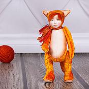 Куклы и игрушки ручной работы. Ярмарка Мастеров - ручная работа Тедди долл Алисия. Handmade.