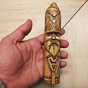 Русский стиль handmade. Livemaster - original item Amulet-Veles, the Spirit of the ancestors of the tree. Talisman. Handmade.