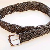 Аксессуары handmade. Livemaster - original item Macrame belt