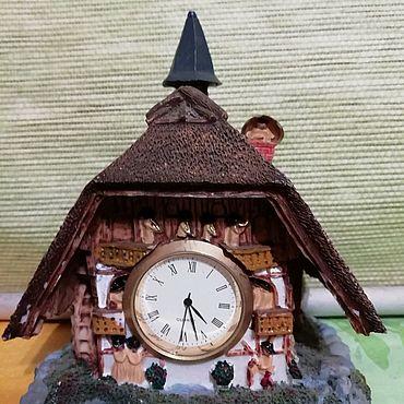 Для дома и интерьера. Ярмарка Мастеров - ручная работа Такие загадочные сказочные часы. Handmade.