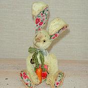 Куклы и игрушки ручной работы. Ярмарка Мастеров - ручная работа кролик Тедди (лимонный кролик, заяц Тедди, друзья Тедди)). Handmade.