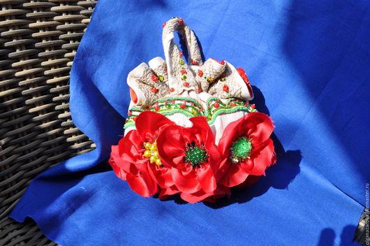 Женские сумки ручной работы. Ярмарка Мастеров - ручная работа. Купить Маки. Handmade. Ярко-красный, дизайнерская работа