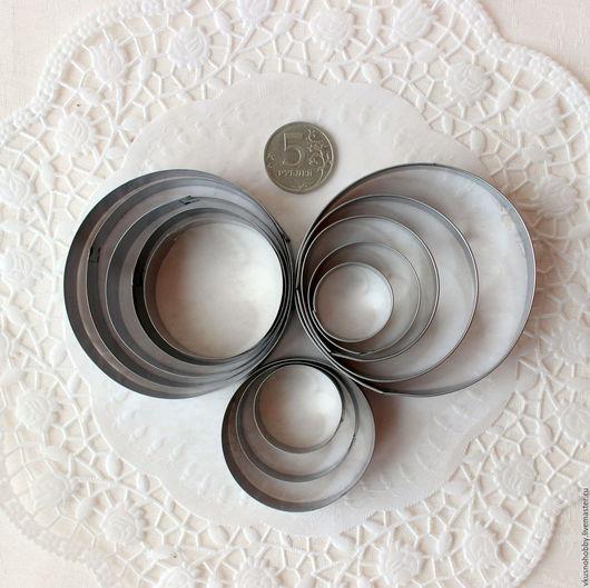 Другие виды рукоделия ручной работы. Ярмарка Мастеров - ручная работа. Купить Круг (3 набора). Резак, каттер, формочка. Handmade.