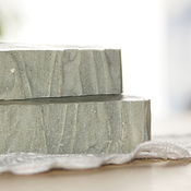 Косметика ручной работы. Ярмарка Мастеров - ручная работа Голубая глина, натуральное глиняное мыло. Handmade.
