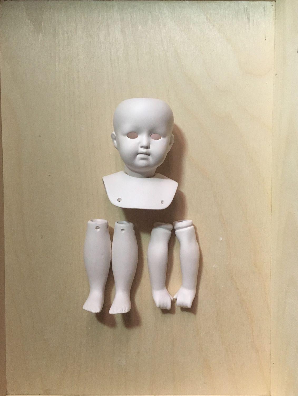 Набор #4 для создания куклы в антикварном стиле, Заготовки, Москва, Фото №1