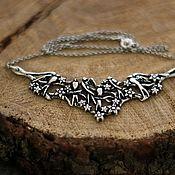 Украшения handmade. Livemaster - original item Necklace Swallows. Handmade.