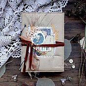 Подарки к праздникам ручной работы. Ярмарка Мастеров - ручная работа Блокнот Осень в кармане. Handmade.