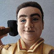 Куклы и игрушки ручной работы. Ярмарка Мастеров - ручная работа войлочный Камнетёс. Handmade.