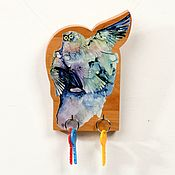 Для дома и интерьера handmade. Livemaster - original item The housekeeper is a wall-mounted Owl. Handmade.