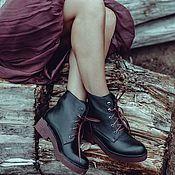 Обувь ручной работы. Ярмарка Мастеров - ручная работа Ботинки Brook. Handmade.