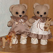 Куклы и игрушки ручной работы. Ярмарка Мастеров - ручная работа МИШКИ - МАЛЫШИ. Handmade.