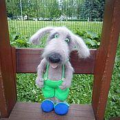 Куклы и игрушки handmade. Livemaster - original item Dog Jack. Handmade.