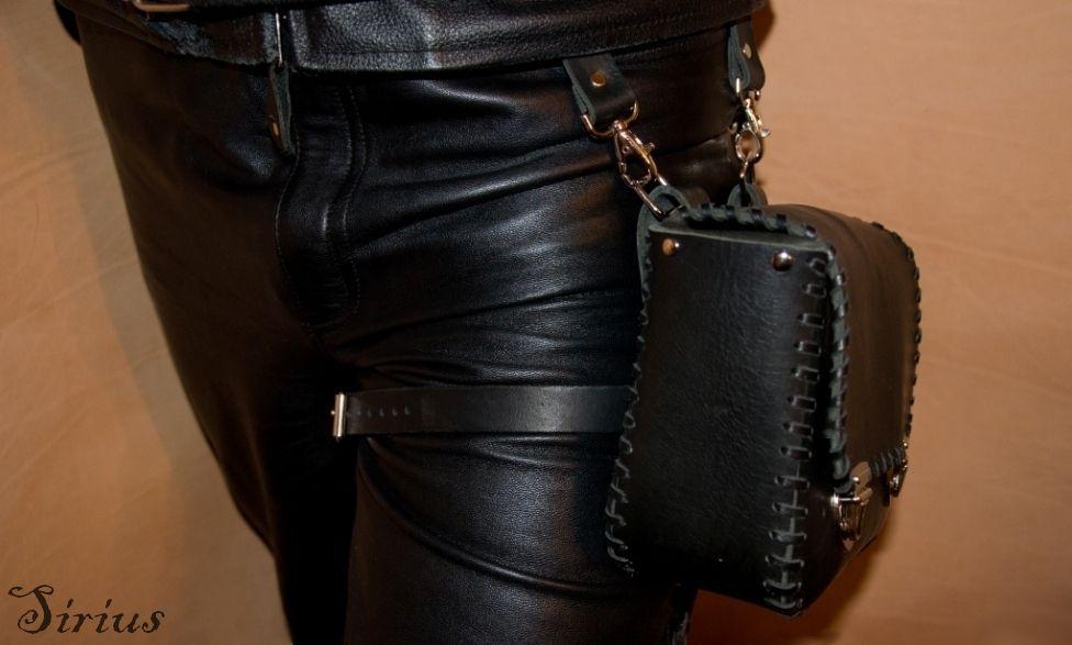 Мужские сумкиторбы из кожи
