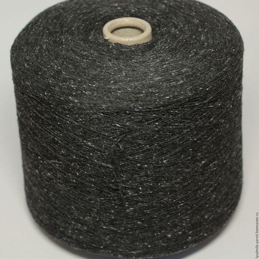 Вязание ручной работы. Ярмарка Мастеров - ручная работа. Купить Твид FIL- 3 art PIGALLE, цвет темно-серый. Handmade.