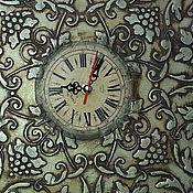 Для дома и интерьера ручной работы. Ярмарка Мастеров - ручная работа Часы большие старинные. Handmade.