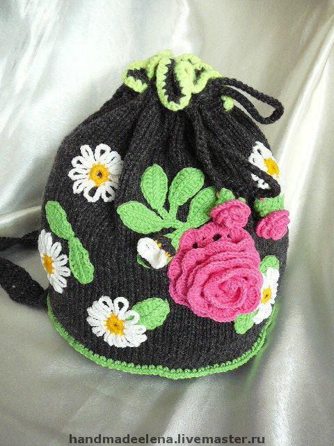 #вязаный рюкзак#рюкзак#летний рюкзак#подарок