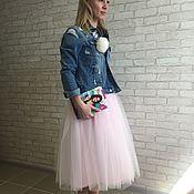 """Одежда ручной работы. Ярмарка Мастеров - ручная работа Юбка пачка из фатина """"нежно розовая"""". Handmade."""